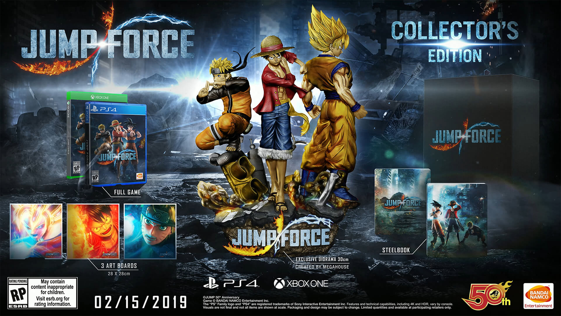 Bandai Namco Entertainment America Games Jump Force