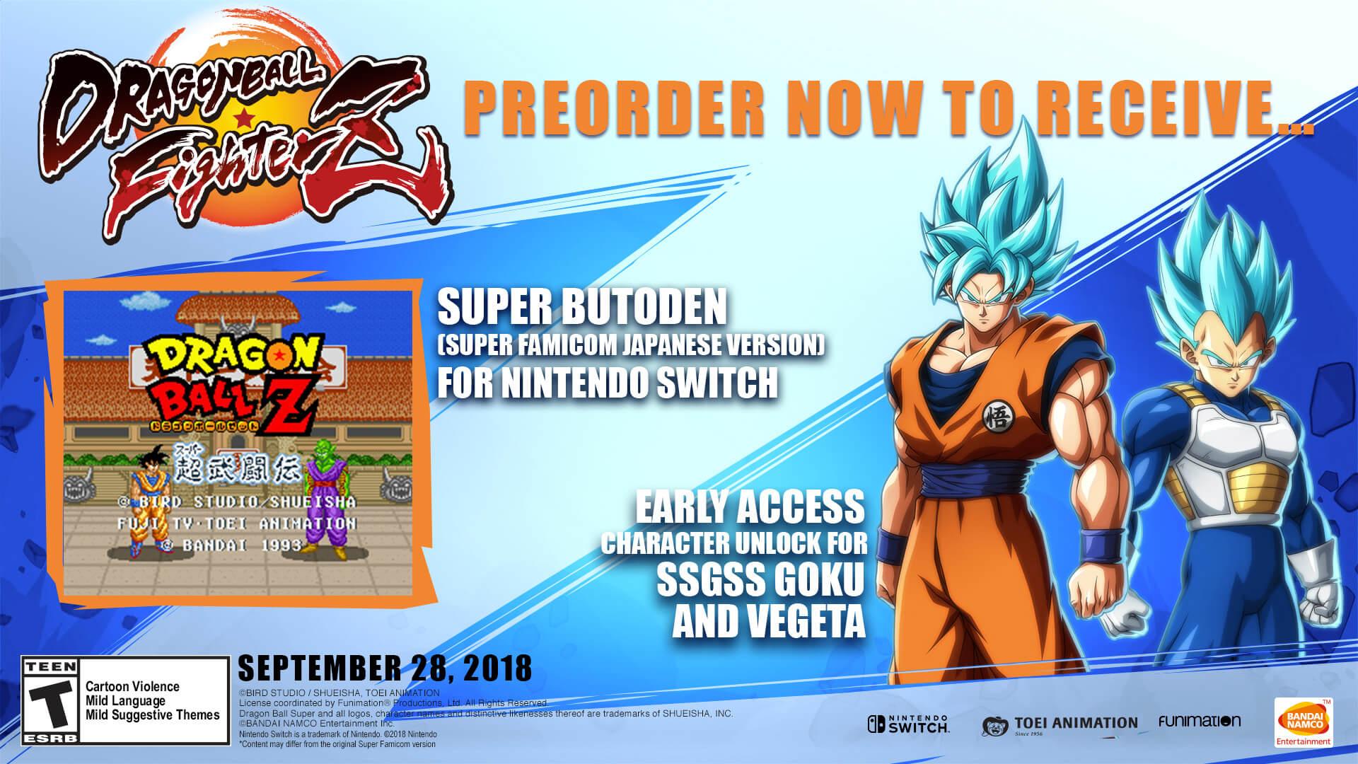 Bandai Namco Entertainment America Games Dragon Ball Fighterz