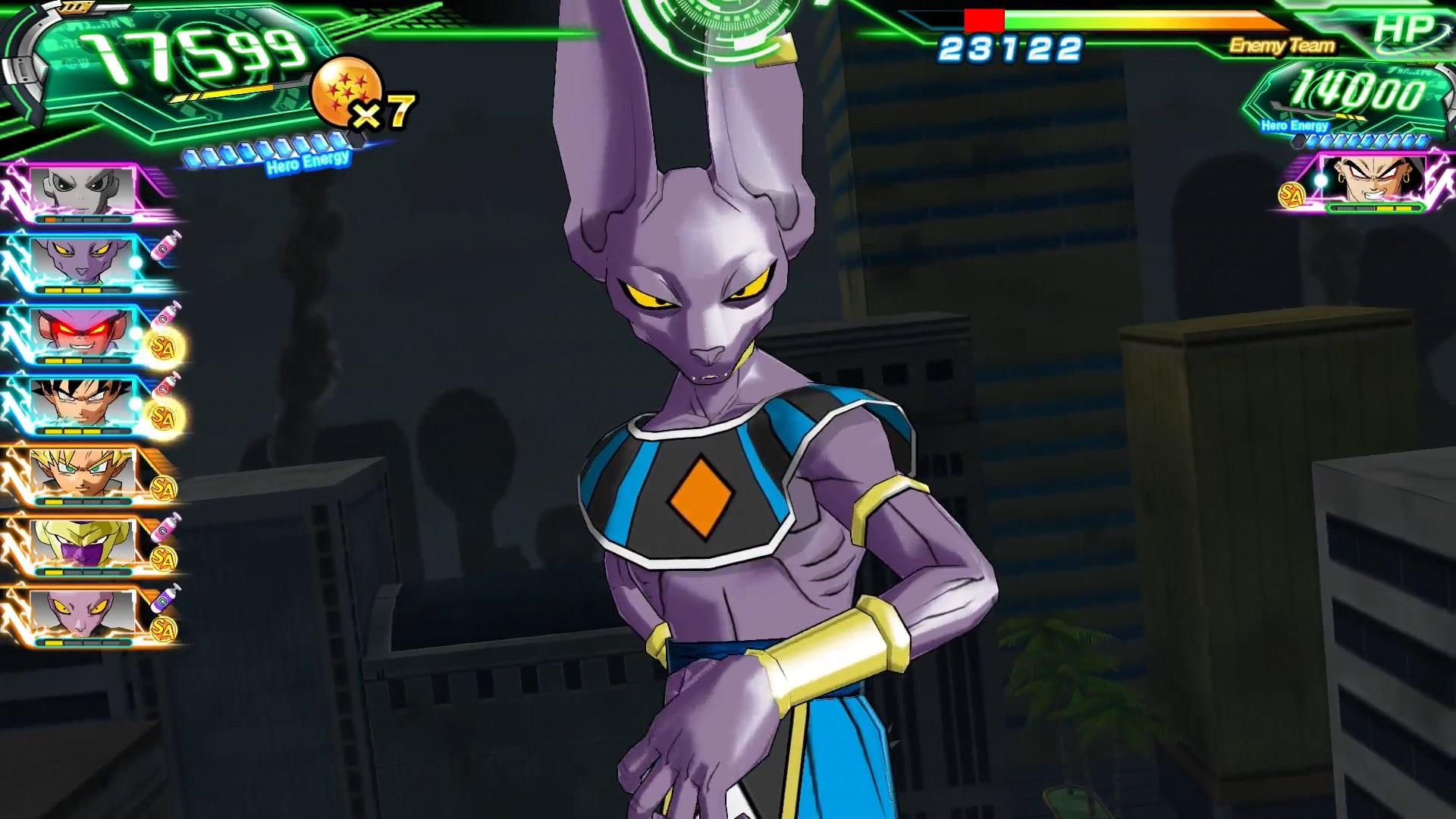 SUPER DRAGON BALL HEROES WORLD MISSION screenshot