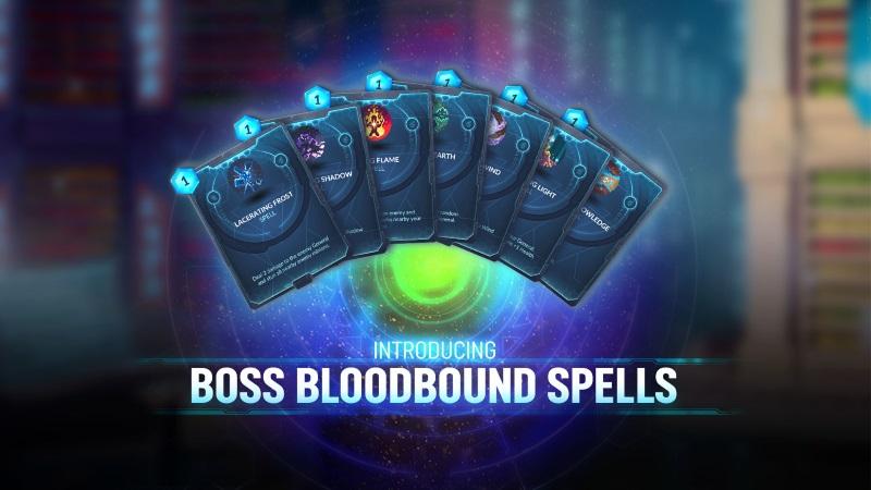Duelyst Boss Bloodbound Spells
